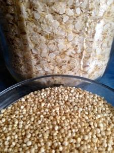 White Quinoa & Rolled Quinoa