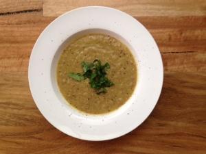 Cauliflower & Cannellini Soup